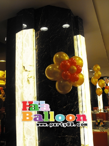 年會氣球裝飾-龍年主題