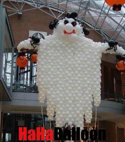 长汽球_万圣节怎么用气球布置的_气球装饰 汽球艺术 气球培训 生日布置 ...