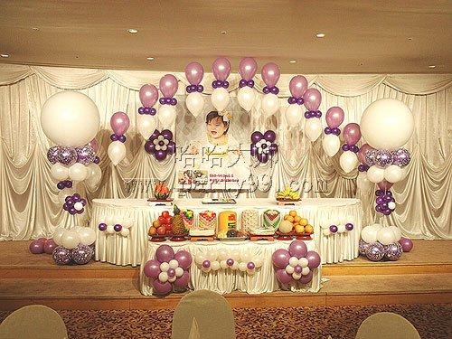 生日7-儿童生日 - 生日气球布置 birthday_haha 哈哈