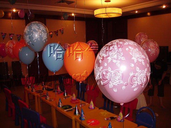 气球编灯笼图解
