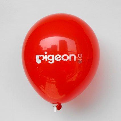 红色小气球印刷