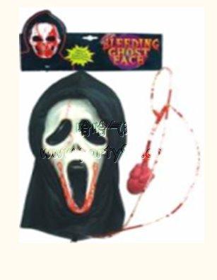 面具 骷髅 鬼节/[ 派对用品party ]鬼节骷髅面具套装