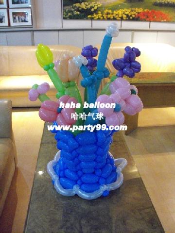 气球编织小动物图解图片下载分享;
